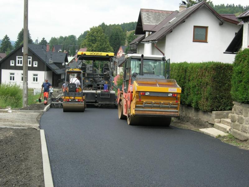Otevření zrekonstruovaného úseku silnice III/29022 v obci Albrechtice v Jizerských horách
