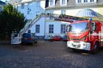 Cvičení hasičů v Jedličkově ústavu v Liberci