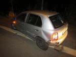 Nehoda dvou aut na jablonecké křižovatce ulic U Stadionu a Pražská