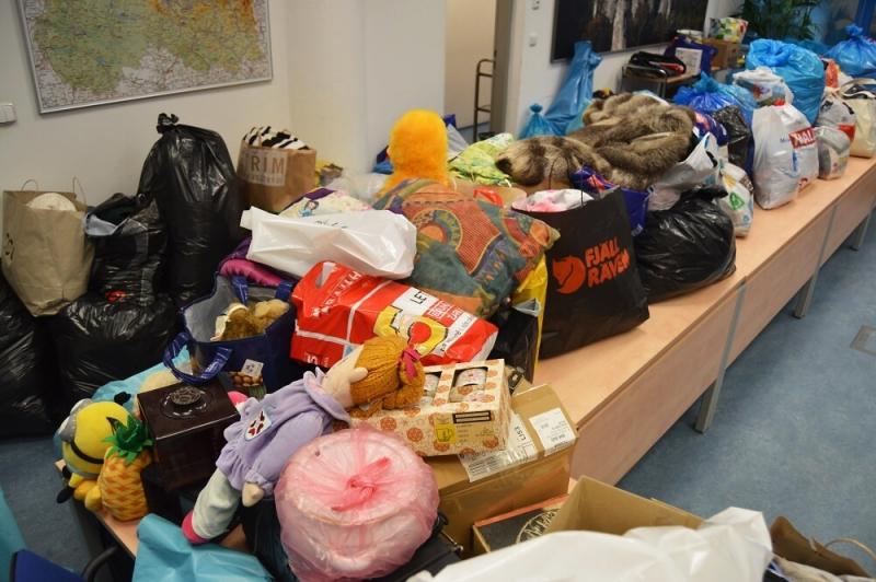 Sbírka staršího oblečení a potřeb pro domácnost, nazvaná Dejte věcem druhou šanci<br />Autor: Archiv KÚ Libereckého kraje