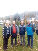 Podzimní slavnost při Mateřské škole v Josefově Dole a vysazení Stromu svobody