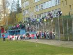Běh na 400 metrů jako oslava výročí republiky v ZŠ Mozartova Jablonec