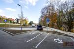 Nové parkoviště pro osobní automobily v ulici Palackého v Tanvaldě