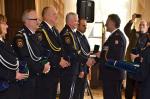 Předávání ocenění Hasičského záchranného sboru u příležitosti Dne vzniku samostatného československého státu