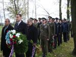 Uctění památky válečných veteránů v Liberci
