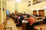 Ustavující zasedání zastupitelstva města Jablonec nad Nisou se konalo ve čtvrtek 15. listopadu 2018. Zastupitelé složili slib a aklamací zvolili členy rady a primátora města. Primátorem se stal Bc. Milan Kroupa (ANO 2011).