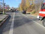 V Belgické ulici v Jablonci narazila řidička do odbočujícího auta