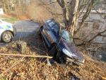 Nehoda v jablonecké ulici Jitřní