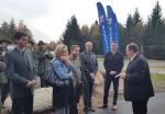 Otevření nového úseku cyklostezky u Rádla