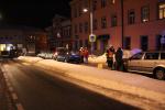 Na náměstí ve Smržovce se srazilo několik aut