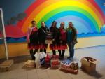 Smržovské hasičky předaly dárky dětem v jablonecké nemocnici