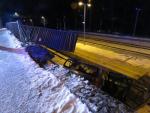 Dopravní nehoda v Tanvaldě v ulici Krkonošská