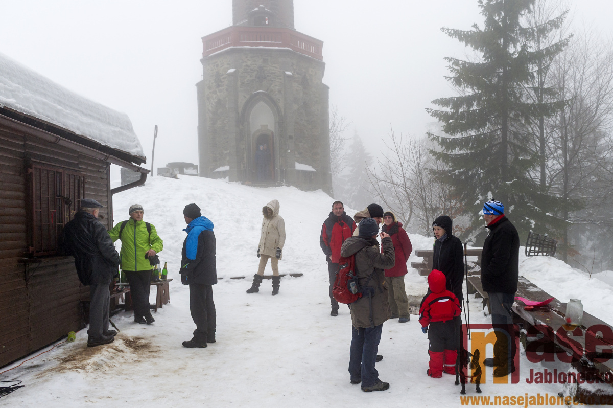 Novoroční výstup na Štěpánku 2019<br />Autor: Antonín Bělonožník