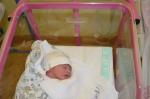 První miminko v jablonecké nemocnici v roce 2019 se jmenuje Zuzanka