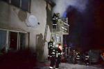 Požár rodinného domu v ulici Volgogradská v Liberci