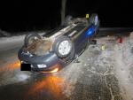 Nehoda v katastru Zlaté Olešnice