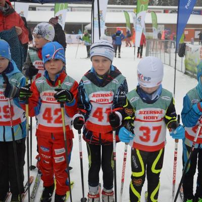 První pohárový závod krajského svazu lyžařů v jabloneckých Břízkách<br />Autor: Čestmír Skrbek
