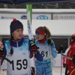 První pohárový závod krajského svazu lyžařů v jabloneckých Břízkách