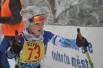 Druhý pohárový závod žactva v běhu na lyžích na Benecku