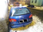 Nehoda dvou aut v prostoru jablonecké křižovatky ulic SNP a Jarní
