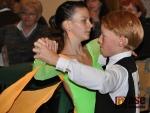 Soutěž ve sportovním tanci hostil v neděli jablonecký Kulturní dům Střelnice