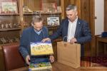 Návštěva předsedy Senátu Jaroslava Kubery v Albrechticích v Jizerských horách