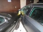 Nehoda tří aut v Josefově Dole