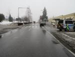 Řidič v Jablonci srazil na přechodu školačku