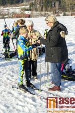 O pohár běžce Tanvaldu - zimní závod na běžkách