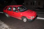 Auto, ve kterém řidič bez kola ujel z Jablonce do Lučan