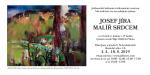 Pozvánka na výstavu Josef Jíra - malíř srdcem