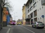 Zásah složek IZS u budovy jabloneckého magistrátu a v přilehlých ulicích
