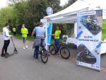Akce Na kole bezpečně na cyklostezce U Nisy