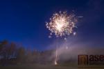 Pálení čarodějnic na hřišti Honvart v Tanvaldě 2019