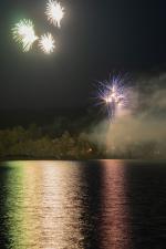 Ohňostroj na jablonecké přehradě 2019