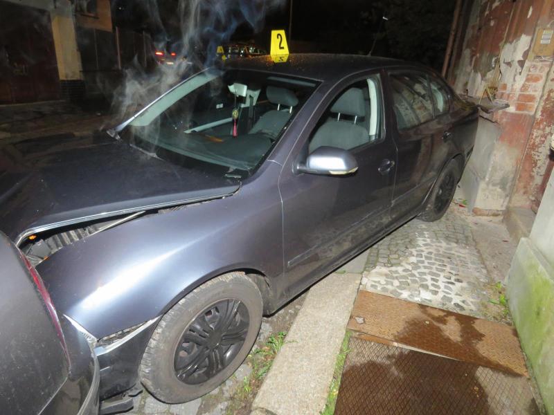 Nehoda v Jablonci nad Nisou v ulici U Přehrady