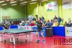 Semifinále play off 1. ligy družstev ve stolním tenise SKST Liberec - TTC Ostrava 2016