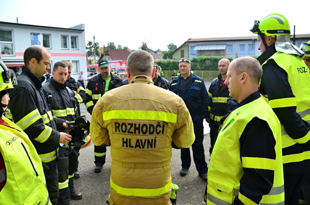 Soutěž ve vyprošťování se konala ve Frýdlantu<br />Autor: HZS Libereckého kraje