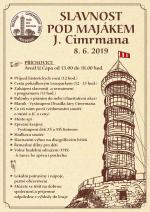Plakát Slavnost Pod majákem Járy Cimrmana 2019