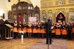 Sbor jablonecké ZUŠ Iuventus, gaude! na festivalu v bulharské Sofii