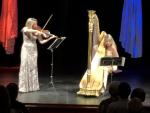 Koncert harfenistky Kateřiny Englichové a violistky Jitky Hosprové