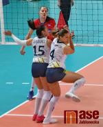 Volejbalistky Česka vyhrály nad Švédskem a postupují