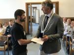 Primátor Jablonce nad Nisou předal ocenění dárcům krve
