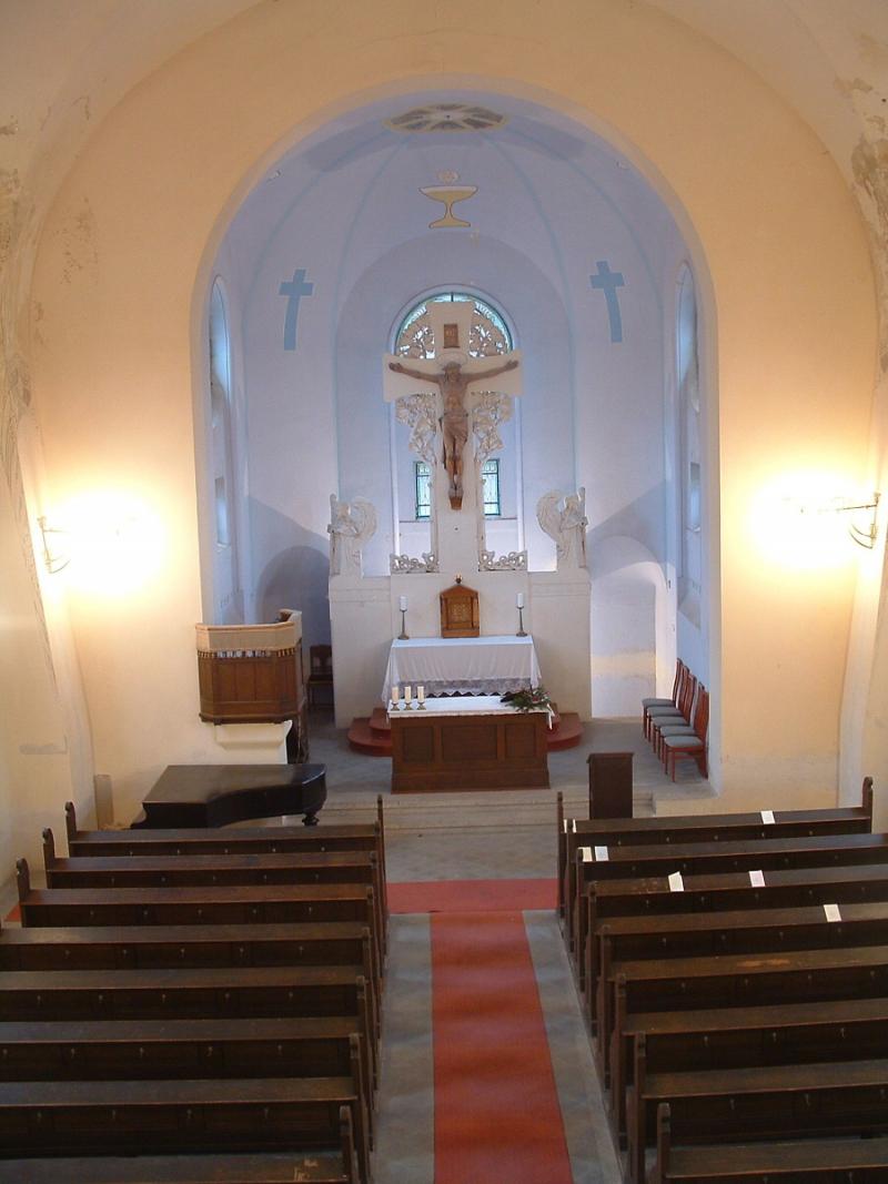 Rekonstrukce kostela Povýšení sv. Kříže v Jablonci