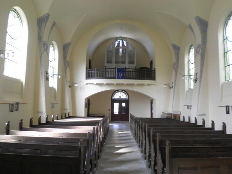 Rekonstrukce kostela Povýšení sv. Kříže v Jablonci<br />Autor: Archiv KÚ Libereckého kraje