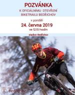 Slavnostní otevření Bike skill centra v Bedřichově