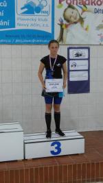 Jablonecké plavecké naděje vylovily 20 medailí na mistrovstvích Česka