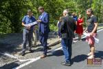 Slavnostní otevření nově zrekonstruované silnice III/29042 mezi městem Tanvald a obcí Albrechtice v Jizerských horách