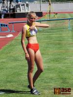 První den soutěží v atletice na Olympiádě dětí a mládeže v Jablonci nad Nisou