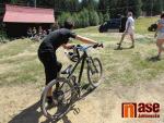 Závody Dual a 4X Cup 2019 v jabloneckém bikeparku Dobrá Voda